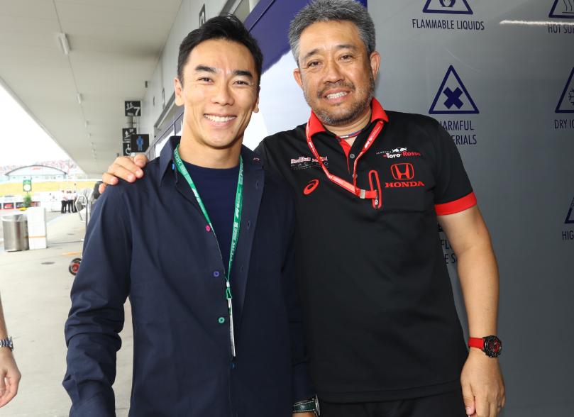 Takuma Sato at Suzuka Circuit 2019